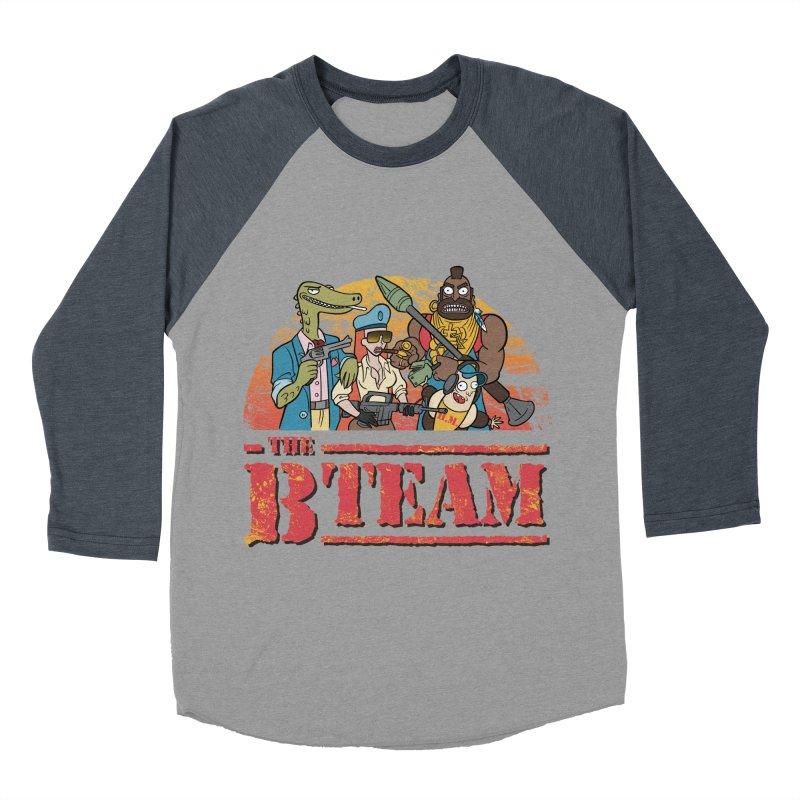 The B Team Women's Baseball Triblend T-Shirt by Diego Pedauye's Artist Shop