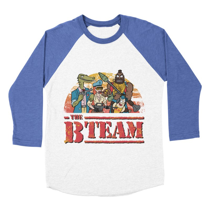 The B Team Men's Baseball Triblend T-Shirt by Diego Pedauye's Artist Shop