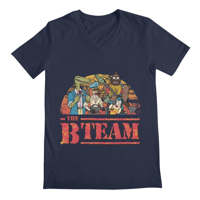 The B Team Men's V-Neck by Diego Pedauye's Artist Shop