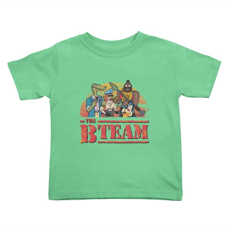 The B Team Kids Toddler T-Shirt by Diego Pedauye's Artist Shop