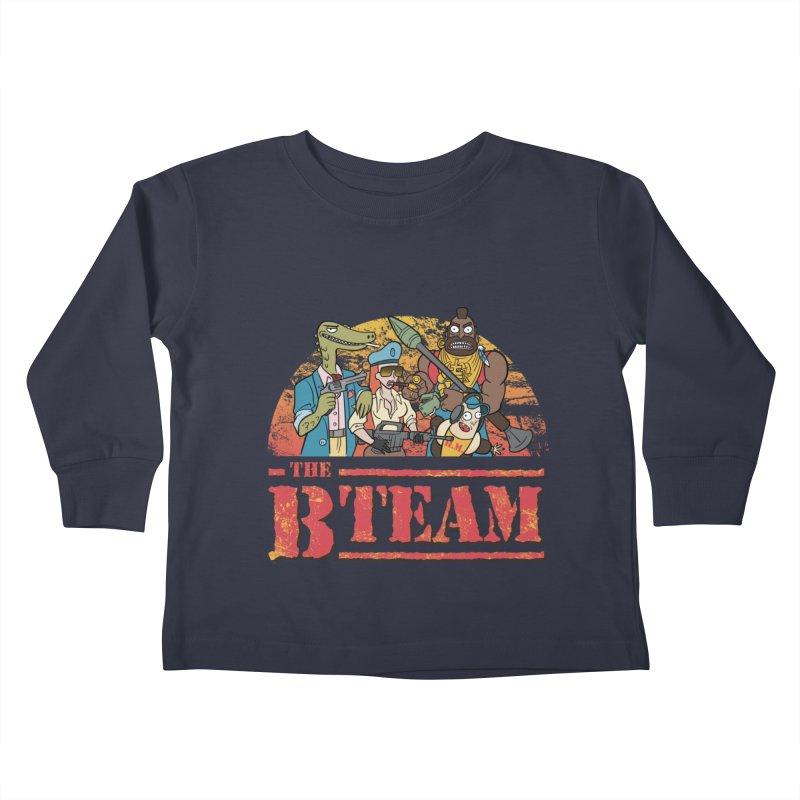 The B Team Kids Toddler Longsleeve T-Shirt by Diego Pedauye's Artist Shop