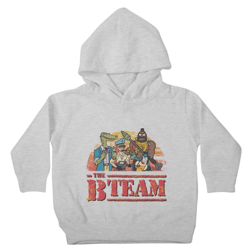 The B Team Kids Toddler Pullover Hoody by Diego Pedauye's Artist Shop