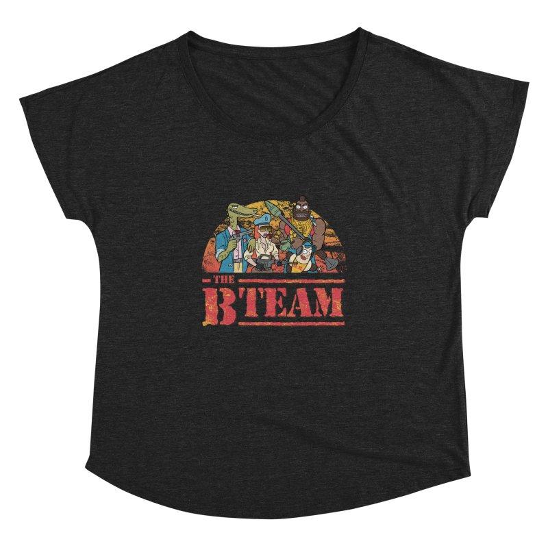 The B Team Women's Dolman by Diego Pedauye's Artist Shop