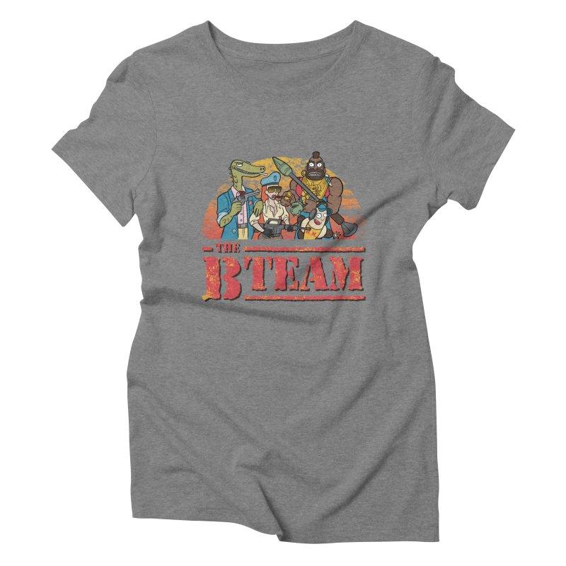 The B Team Women's Triblend T-shirt by Diego Pedauye's Artist Shop