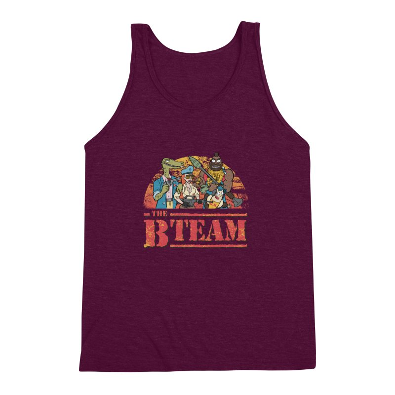 The B Team Men's Triblend Tank by Diego Pedauye's Artist Shop