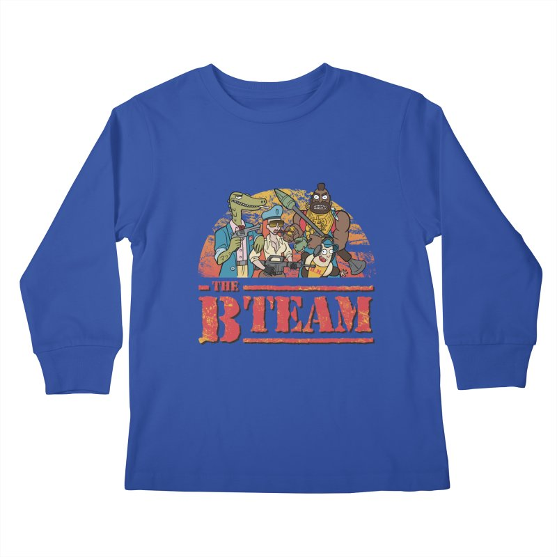 The B Team Kids Longsleeve T-Shirt by Diego Pedauye's Artist Shop