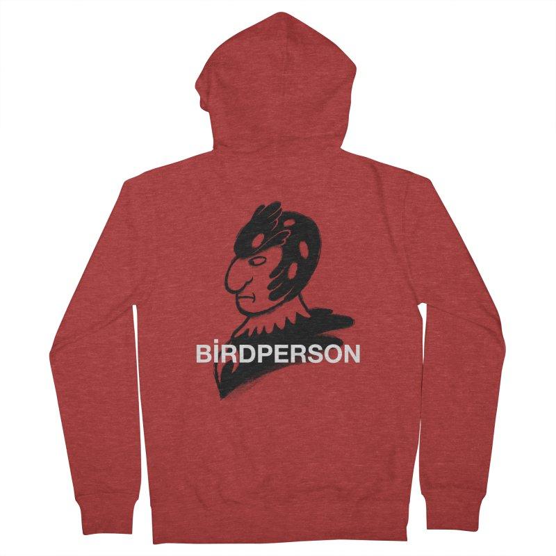 Birdperson Women's Zip-Up Hoody by Diego Pedauye's Artist Shop
