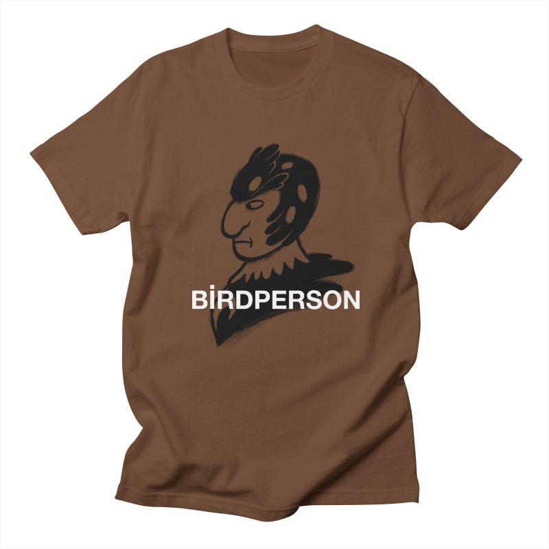 Birdperson Men's T-shirt by Diego Pedauye's Artist Shop