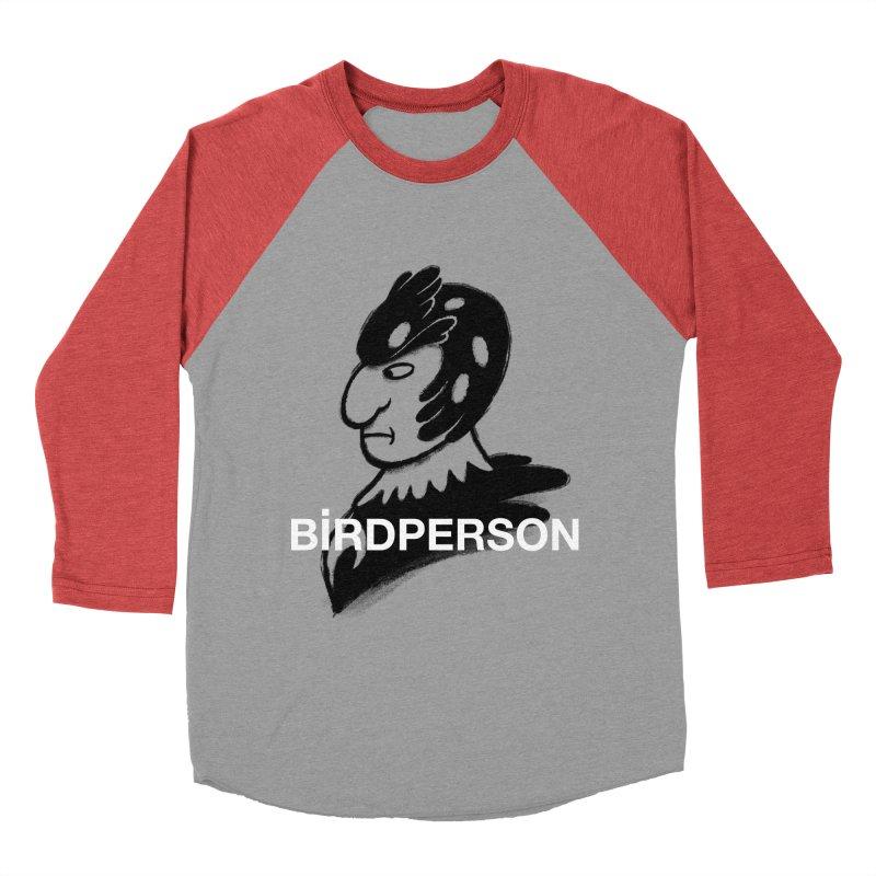 Birdperson Women's Baseball Triblend T-Shirt by Diego Pedauye's Artist Shop