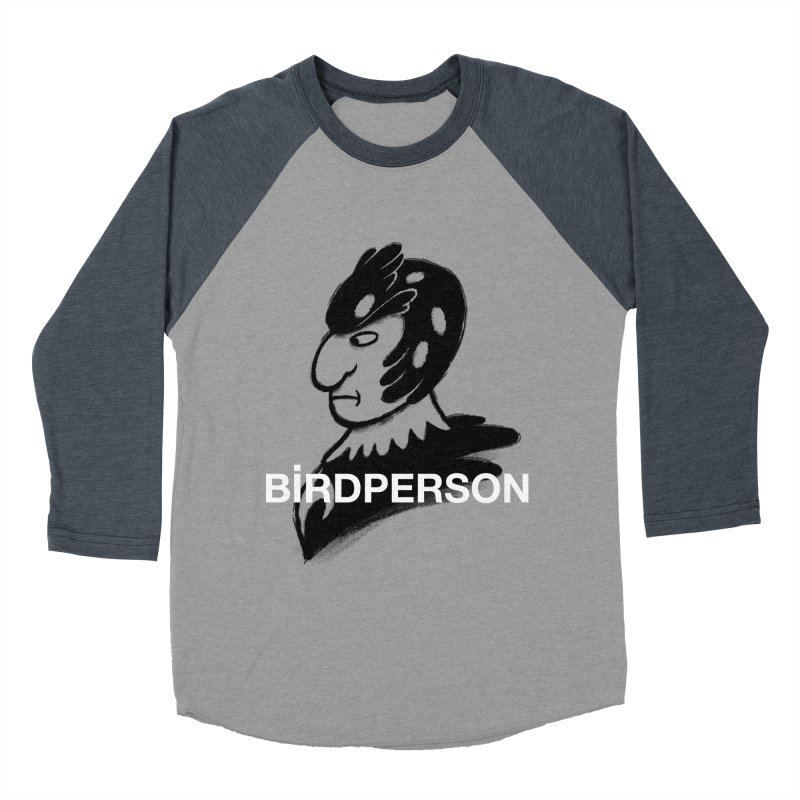Birdperson Men's Baseball Triblend T-Shirt by Diego Pedauye's Artist Shop