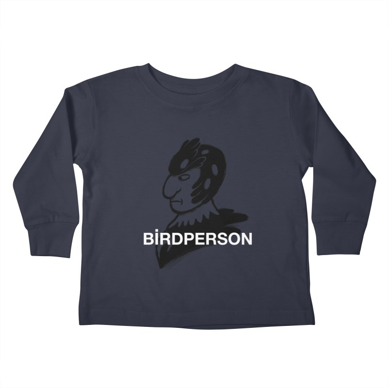 Birdperson Kids Toddler Longsleeve T-Shirt by Diego Pedauye's Artist Shop