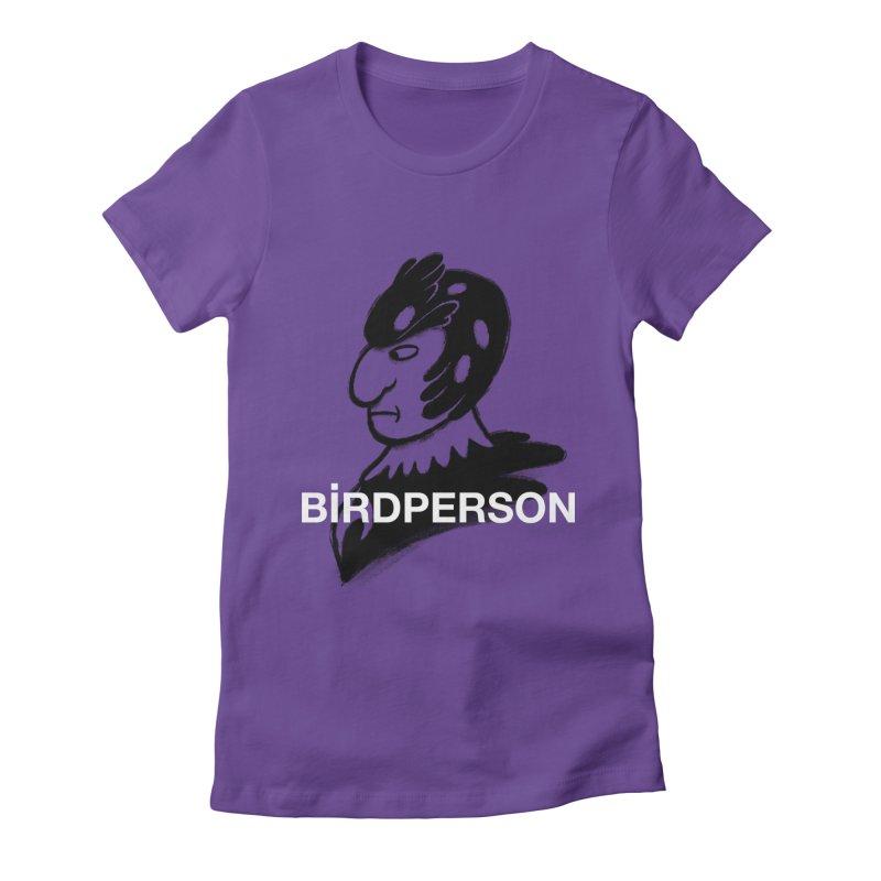Birdperson Women's Fitted T-Shirt by Diego Pedauye's Artist Shop