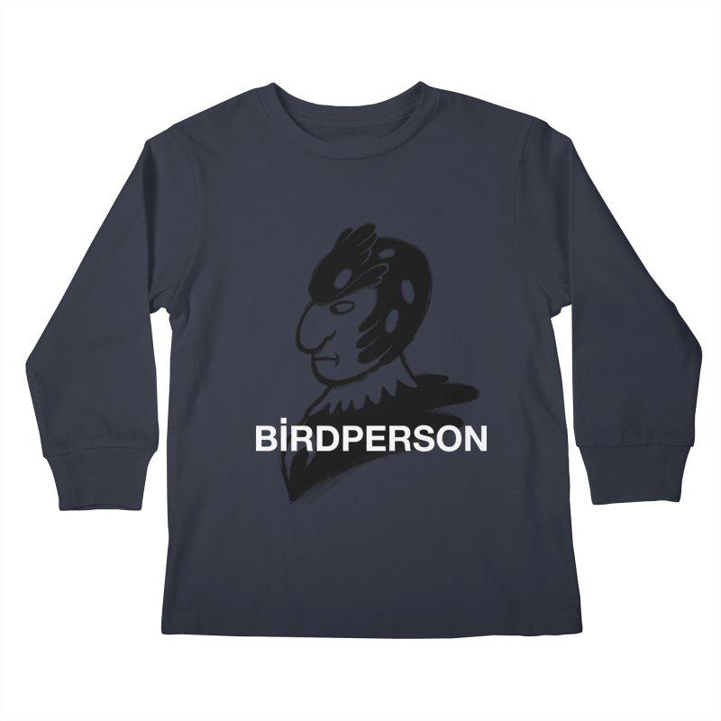 Birdperson Kids Longsleeve T-Shirt by Diego Pedauye's Artist Shop
