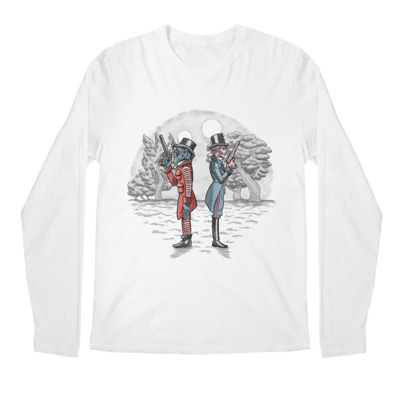 Cantina Duelists Men's Longsleeve T-Shirt by Diego Pedauye's Artist Shop
