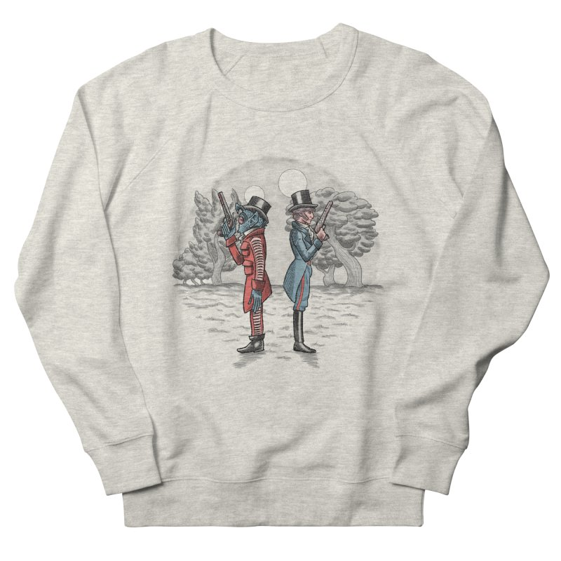 Cantina Duelists Men's Sweatshirt by Diego Pedauye's Artist Shop