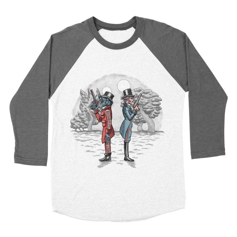 Cantina Duelists Women's Baseball Triblend T-Shirt by Diego Pedauye's Artist Shop