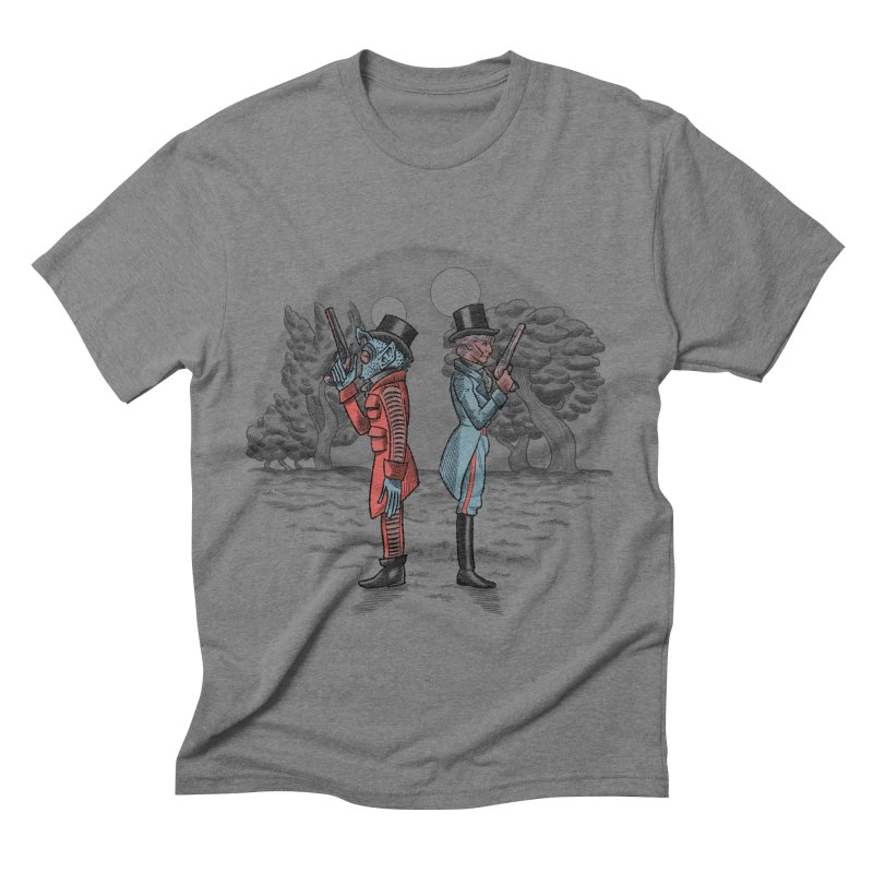 Cantina Duelists Men's Triblend T-shirt by Diego Pedauye's Artist Shop