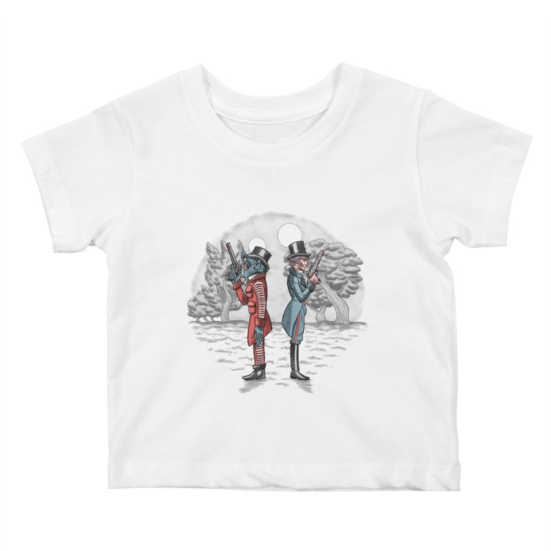 Cantina Duelists Kids Baby T-Shirt by Diego Pedauye's Artist Shop