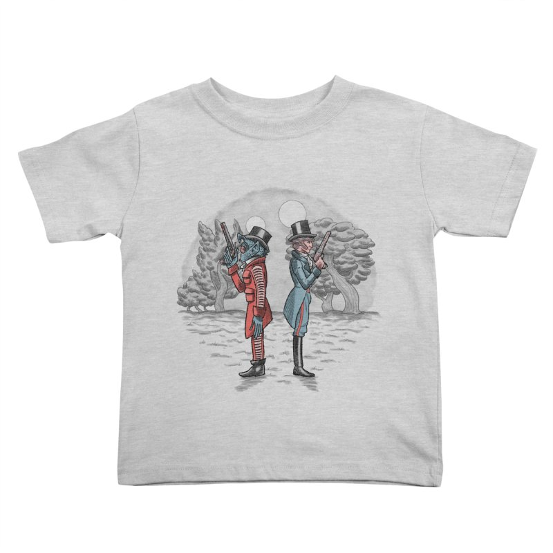 Cantina Duelists Kids Toddler T-Shirt by Diego Pedauye's Artist Shop