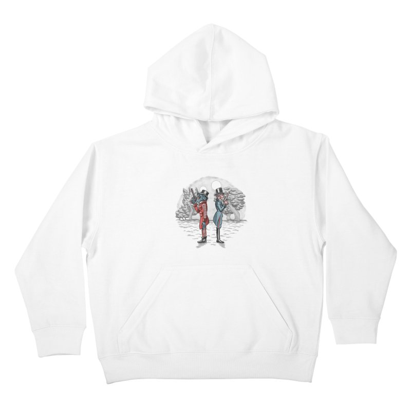 Cantina Duelists Kids Pullover Hoody by Diego Pedauye's Artist Shop