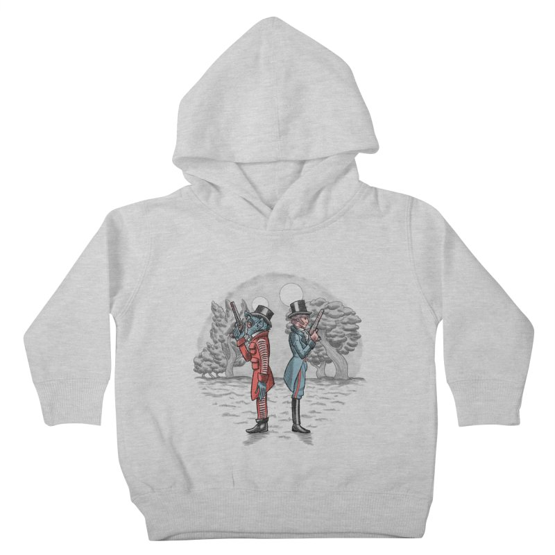 Cantina Duelists Kids Toddler Pullover Hoody by Diego Pedauye's Artist Shop