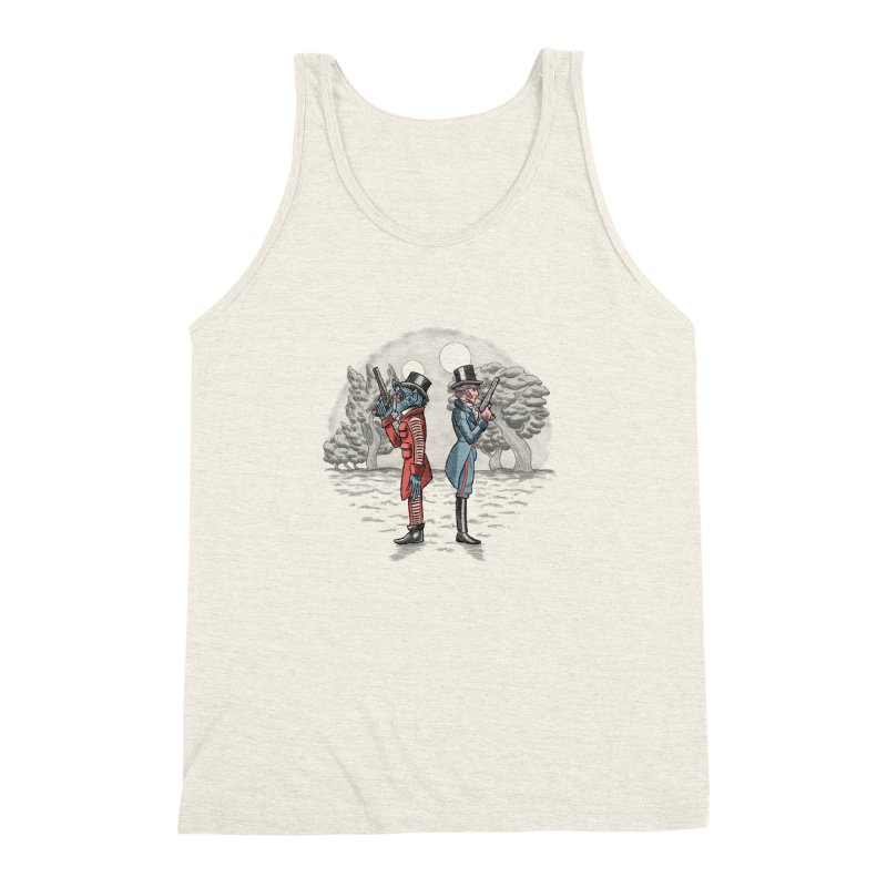 Cantina Duelists Men's Triblend Tank by Diego Pedauye's Artist Shop