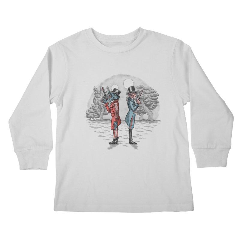 Cantina Duelists Kids Longsleeve T-Shirt by Diego Pedauye's Artist Shop