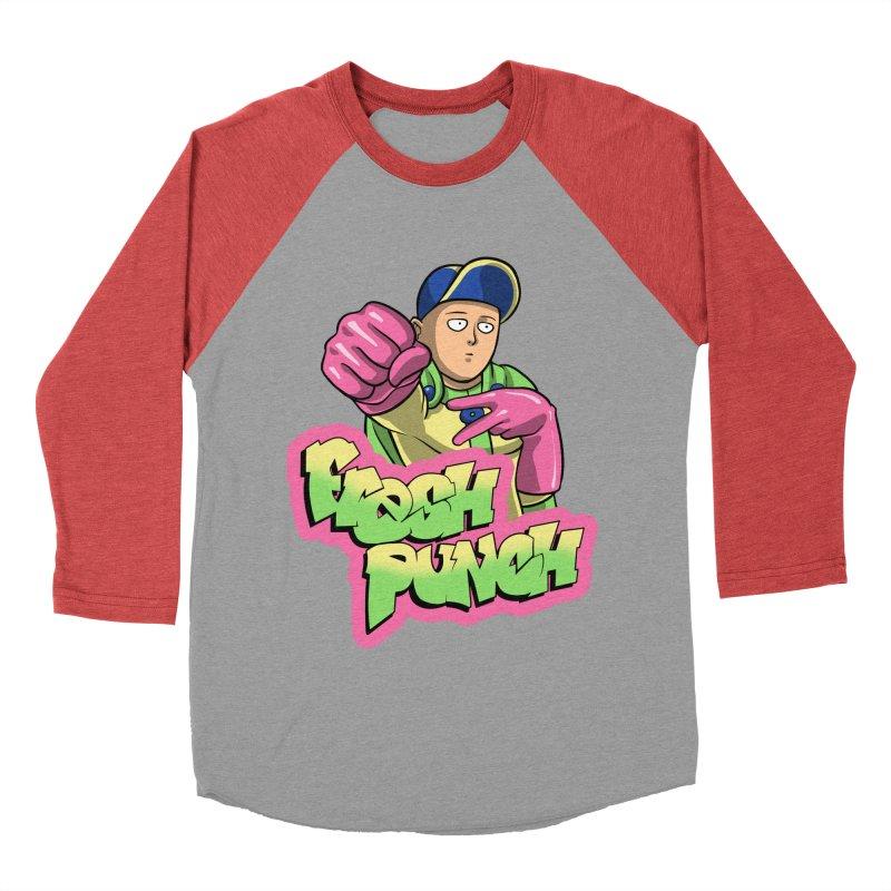 Fresh Punch Women's Baseball Triblend T-Shirt by Diego Pedauye's Artist Shop