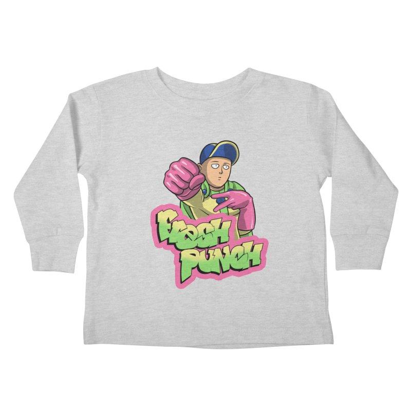 Fresh Punch Kids Toddler Longsleeve T-Shirt by Diego Pedauye's Artist Shop