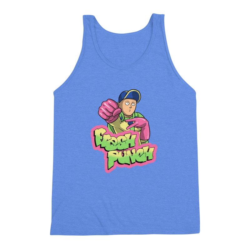 Fresh Punch Men's Triblend Tank by Diego Pedauye's Artist Shop