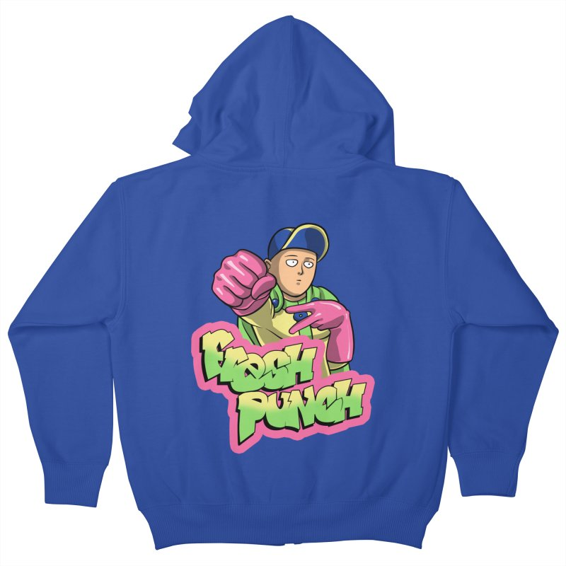 Fresh Punch Kids Zip-Up Hoody by Diego Pedauye's Artist Shop