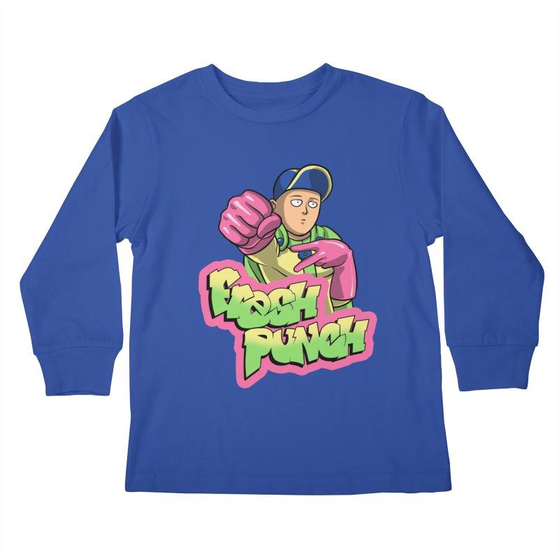 Fresh Punch Kids Longsleeve T-Shirt by Diego Pedauye's Artist Shop