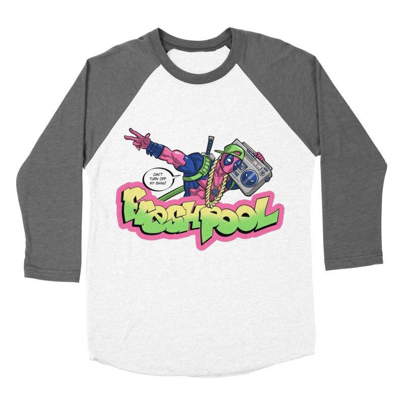 Fresh Pool Women's Baseball Triblend T-Shirt by Diego Pedauye's Artist Shop
