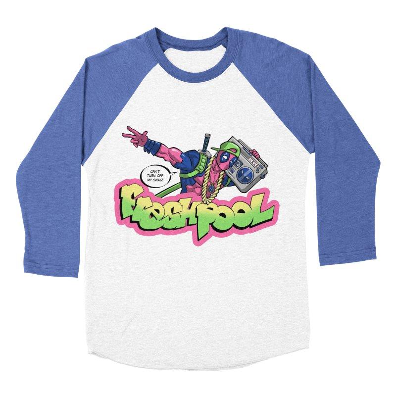 Fresh Pool Men's Baseball Triblend T-Shirt by Diego Pedauye's Artist Shop