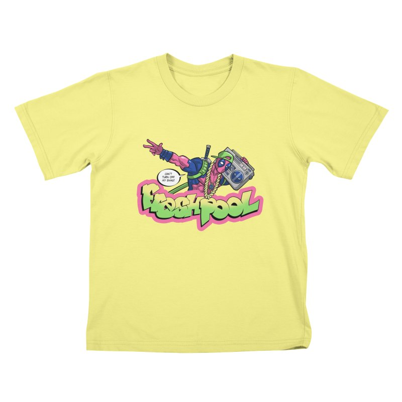 Fresh Pool Kids T-shirt by Diego Pedauye's Artist Shop