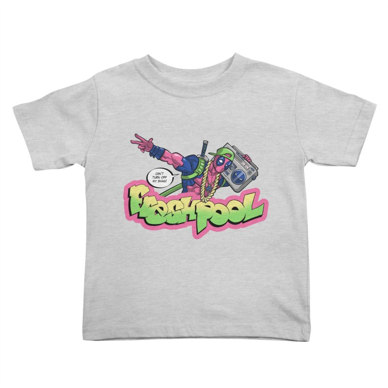 Fresh Pool Kids Toddler T-Shirt by Diego Pedauye's Artist Shop