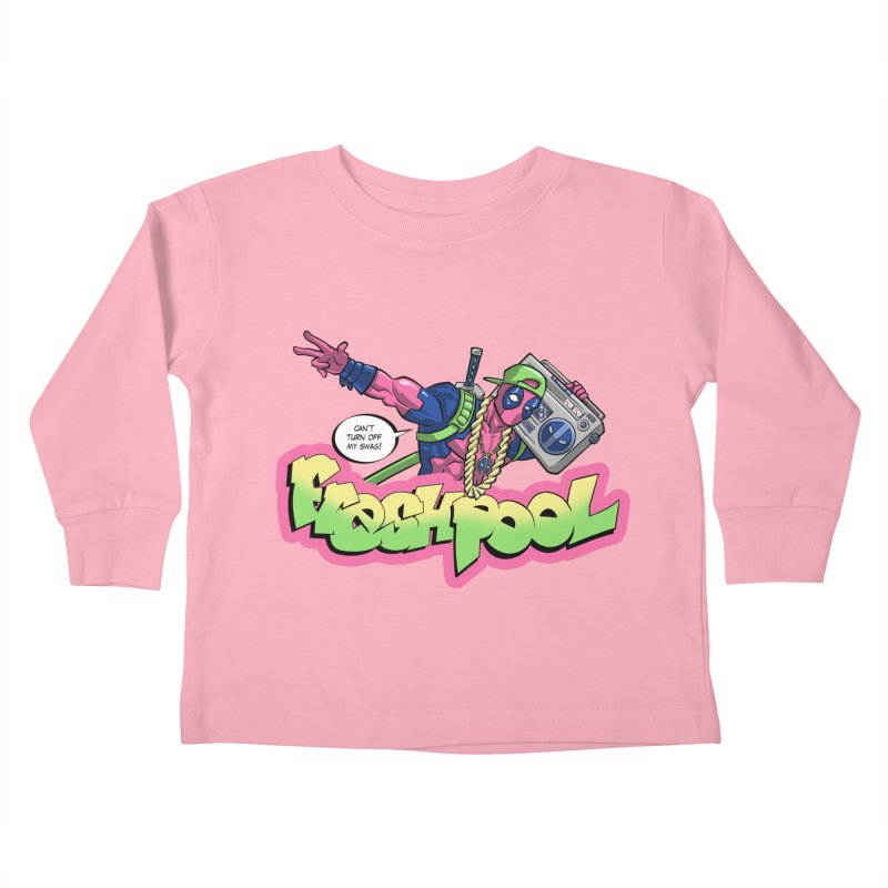 Fresh Pool Kids Toddler Longsleeve T-Shirt by Diego Pedauye's Artist Shop