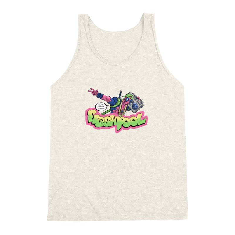 Fresh Pool Men's Triblend Tank by Diego Pedauye's Artist Shop