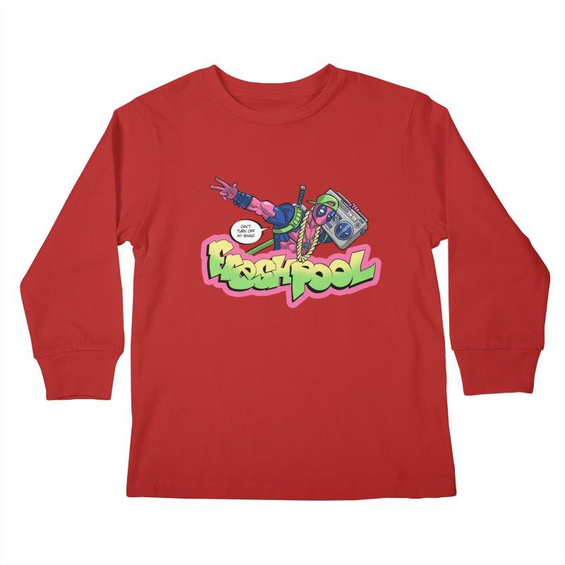 Fresh Pool Kids Longsleeve T-Shirt by Diego Pedauye's Artist Shop