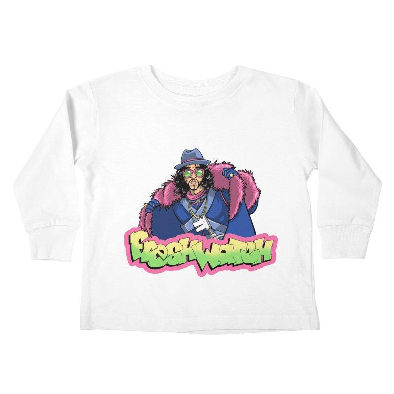 Fresh Watch Kids Toddler Longsleeve T-Shirt by Diego Pedauye's Artist Shop