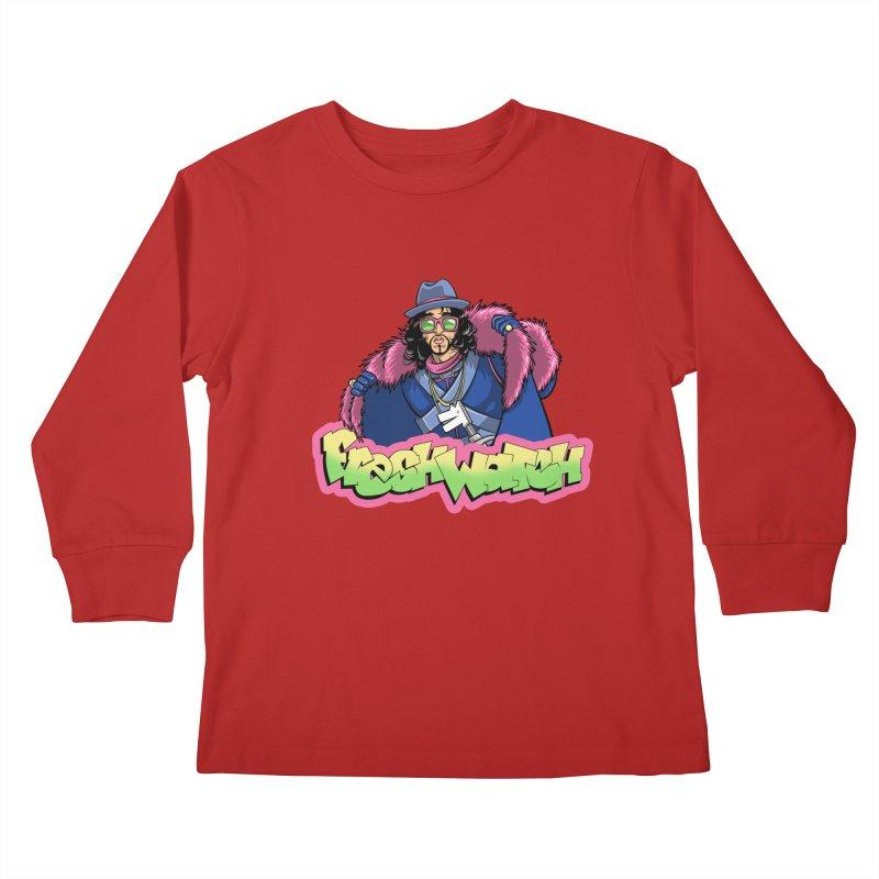 Fresh Watch Kids Longsleeve T-Shirt by Diego Pedauye's Artist Shop