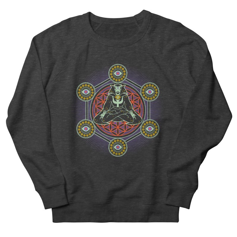 Strange Eye Men's Sweatshirt by Diego Pedauye's Artist Shop