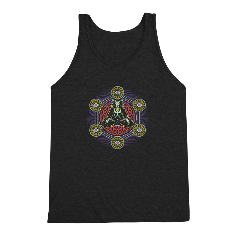 Strange Eye Men's Triblend Tank by Diego Pedauye's Artist Shop