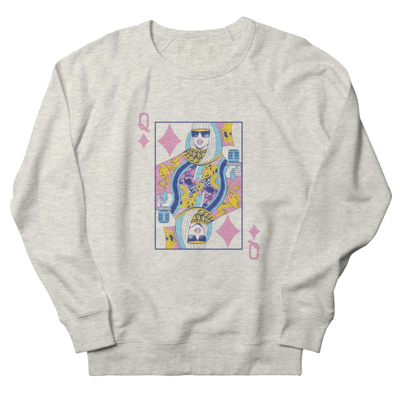 Q of Glam Men's Sweatshirt by Diego Pedauye's Artist Shop