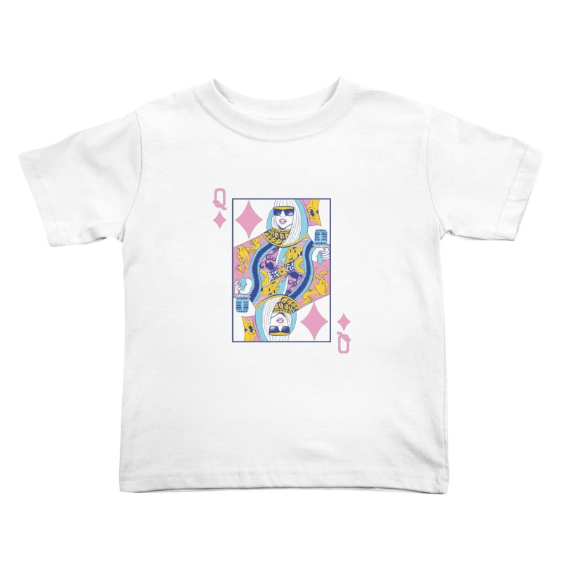 Q of Glam Kids Toddler T-Shirt by Diego Pedauye's Artist Shop