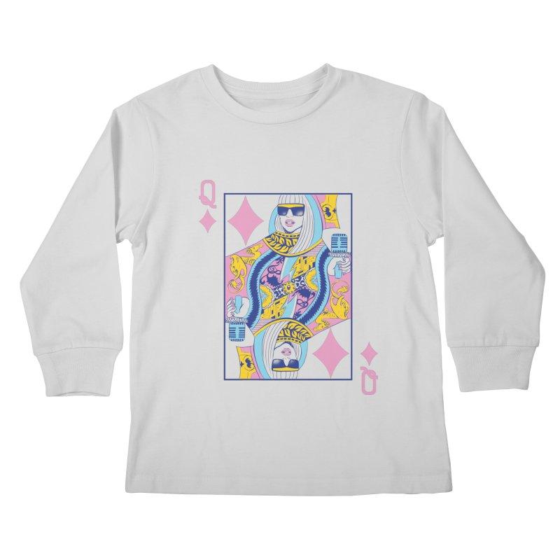 Q of Glam Kids Longsleeve T-Shirt by Diego Pedauye's Artist Shop
