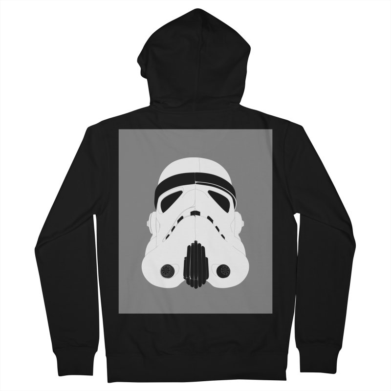 Star Wars Mask Men's Zip-Up Hoody by diegoverhagen's Artist Shop