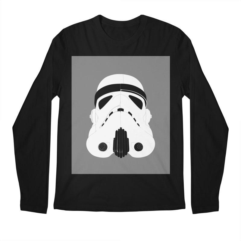 Star Wars Mask Men's Longsleeve T-Shirt by diegoverhagen's Artist Shop