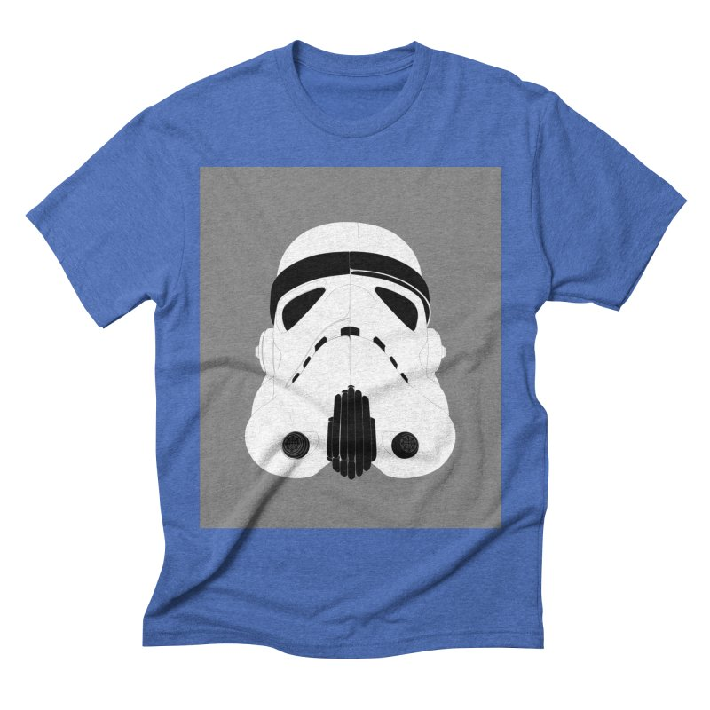 Star Wars Mask Men's Triblend T-Shirt by diegoverhagen's Artist Shop