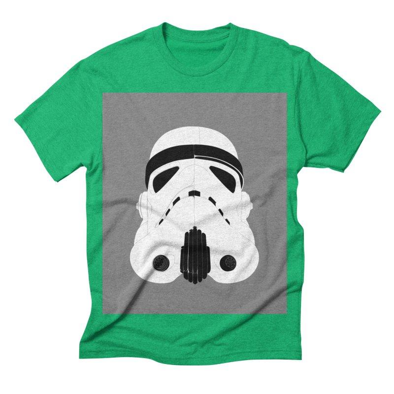 Star Wars Mask Men's Triblend T-shirt by diegoverhagen's Artist Shop